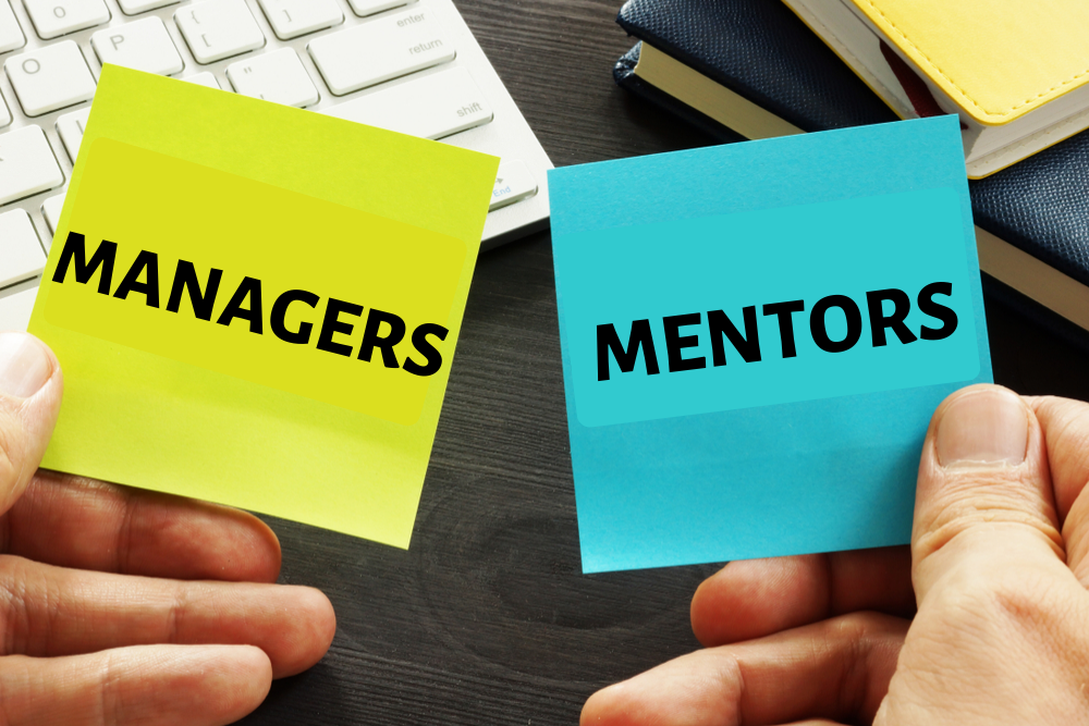 Workforce management manager and mentors