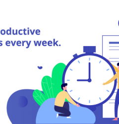 Save 15+ Productive Work Hours every week blog banner