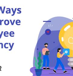 top 5 ways to improve employee efficiency.
