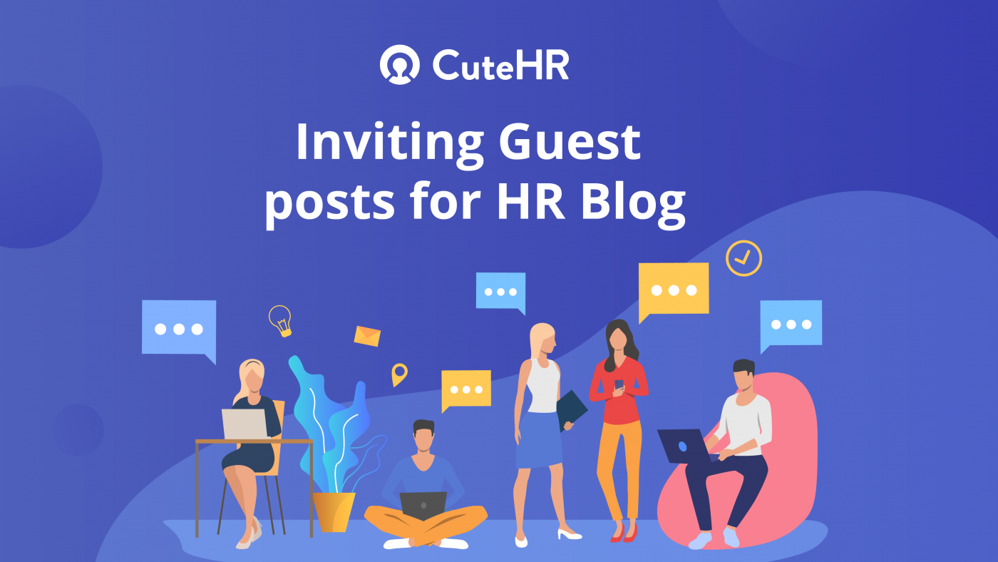 Guest Posting on CuteHR