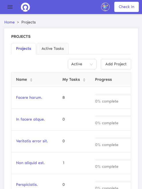 project manager feature cutehr