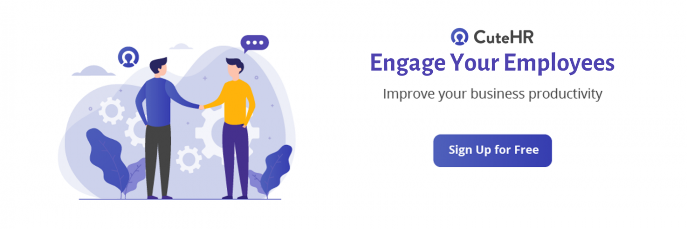 employee engagement platform for cuteHR