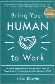 Bring Your Human to work by Erica Keswin hr books