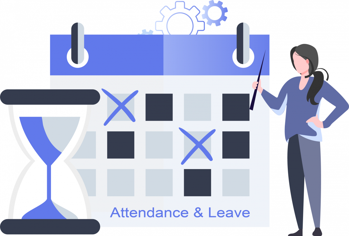 attendance and leave manager cutehr features